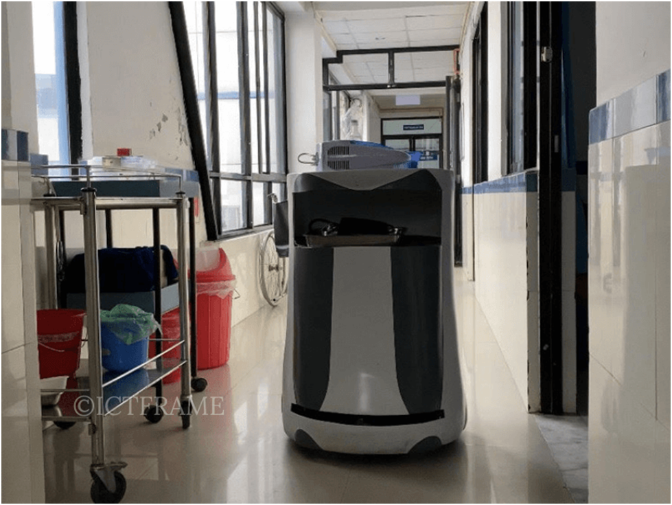 Robots come out on top amid coronavirus pandemic