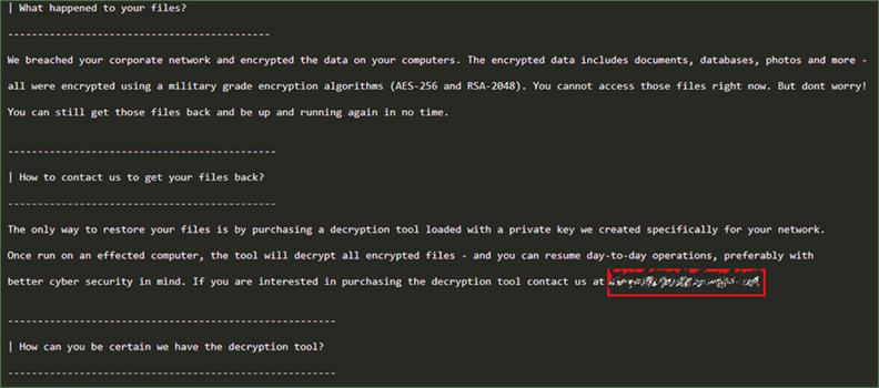 SNAKE ransomware work