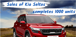 Sales of Kia Seltos