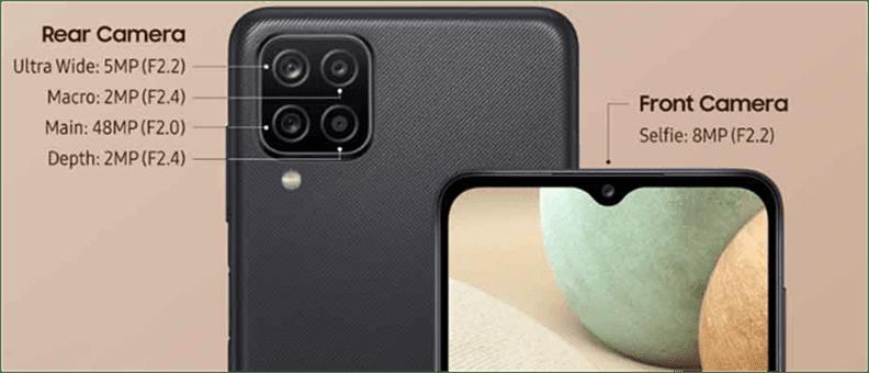 Samsung A12 Camera