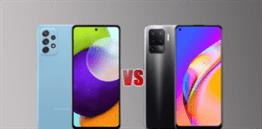 Samsung Galaxy A52 vs Oppo F19 Pro