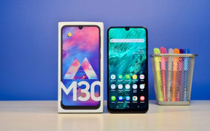 Samsung Galaxy M30 with triple cameras & 5000mAh launched