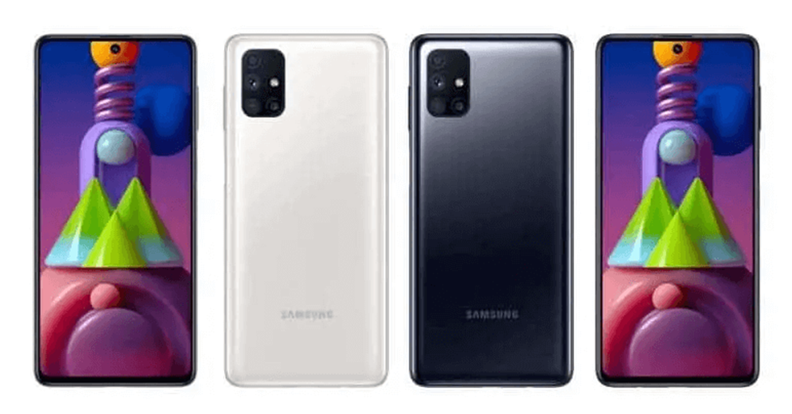 Samsung Galaxy M51 Design