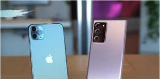 Samsung Galaxy Note 20 Ultra vs iPhone 11 Pro Max