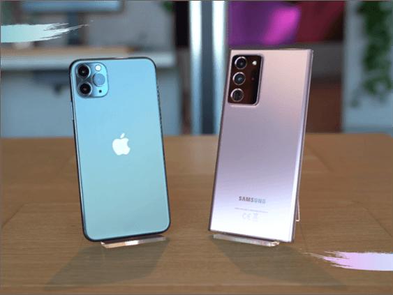 Samsung Galaxy Note 20 Ultra vs iPhone 11 Pro Max
