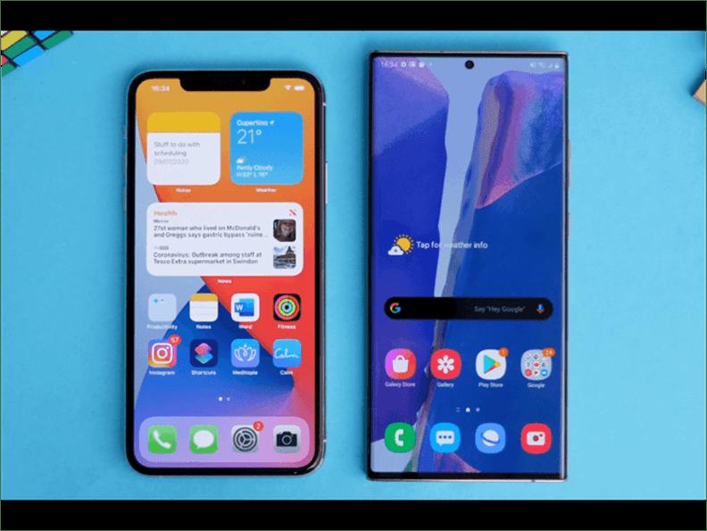 Galaxy Note 20 Ultra vs iPhone 11 Pro Max