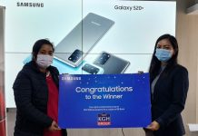 Samsung Lucky Draw Winners