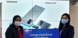 Samsung Lucky Draw Winners