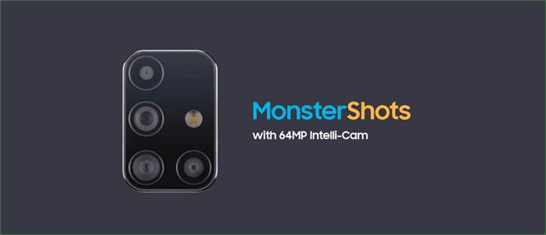 Samsung Monstershots Camera
