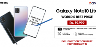 Galaxy Note 10 Lite World's Best Price