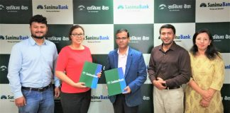 Sanima Bank Continued its Financial Support