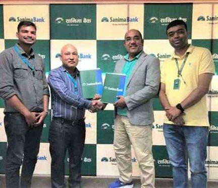 Sanima Bank Signed