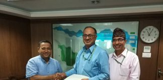 Sanima Bank provided financial support to Teach For Nepal