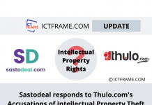 Sastodeal's Response On Thulo.com Accusation Of Prioritise Intellectual Property Theft