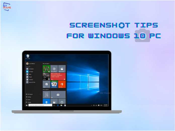 Screenshot on a Windows 10 PC