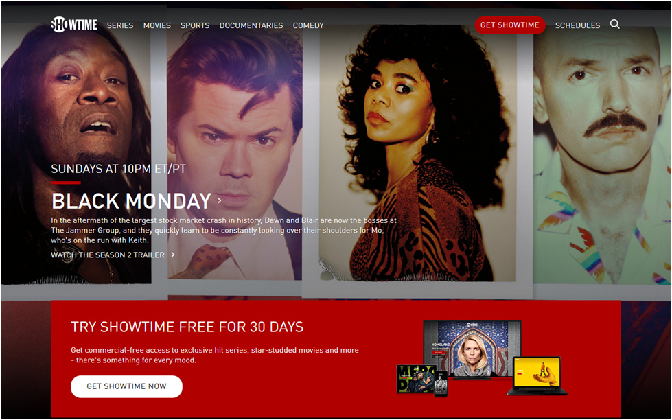 Showtime Offers Free 30-Day Trial For New Users
