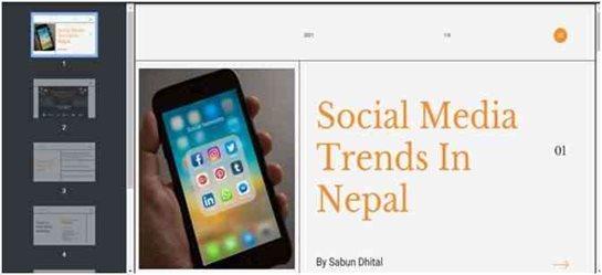 Social Media Trends Nepal