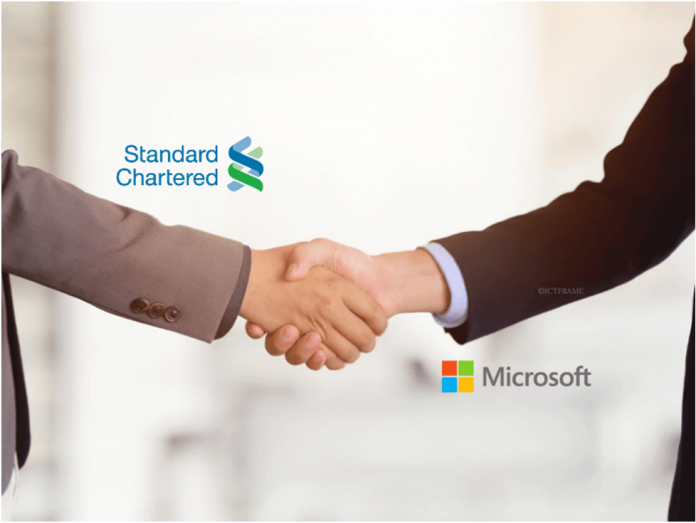 Standard Chartered Partners With Microsoft