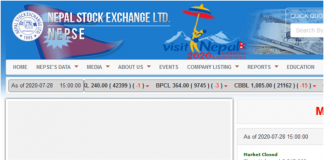 Steal Data From NEPSE's Website