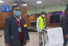10000 COVID-10 Test Kits To Nepal From Singapore