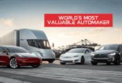 Tesla World's Most Valuable Automaker