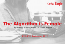 The Algorithm Is Female Technology Has No Gender, Let's Learn To Code