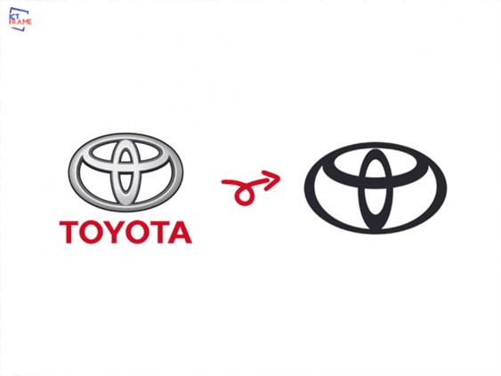 Toyota Drops Wordmark