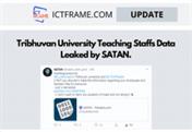 SATAN Leaked Data Of TribhuvanUniversity Teaching Staffs