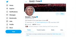 Trump blocked by Twitter
