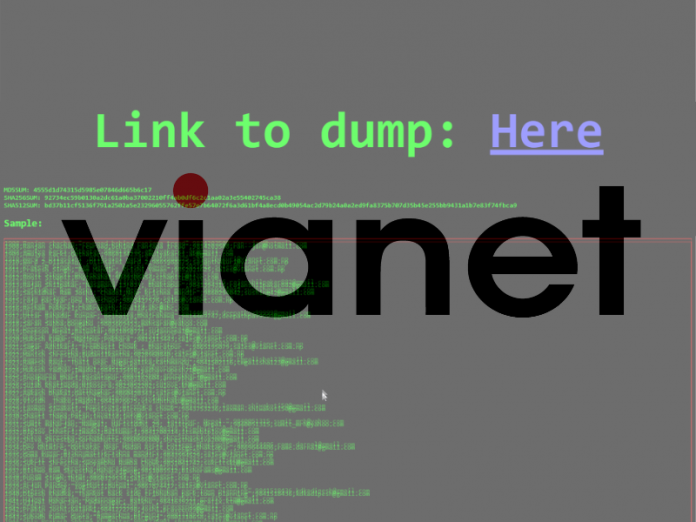 Vianet's Clients Data Hacked