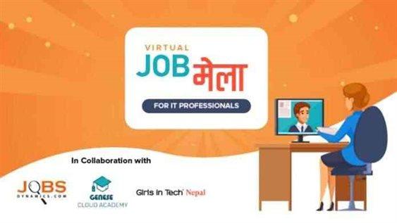 Virtual IT Job Fair in Nepal