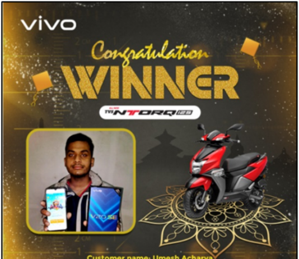 Vivo Nepal Winner