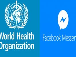 WHO Launches Interactive COVID-19 Service on Facebook Messenger