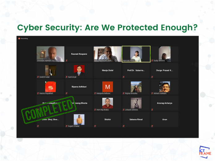 Webinar On CyberSecurity Are we protected Enough