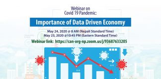 Webinar On COVID-19 Pandemic: Importance of Data Driven Economy