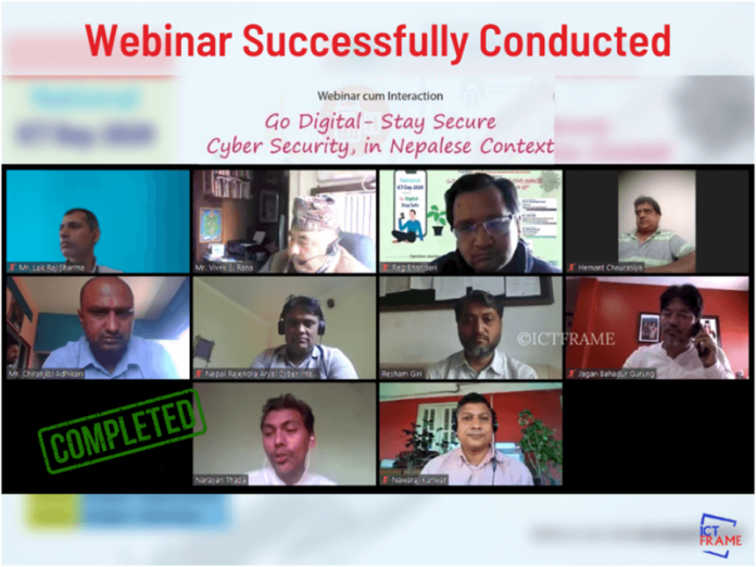 Webinar cum Interaction on Information Security in Nepalese Context