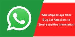 WhatsApp Photo Filter Bug