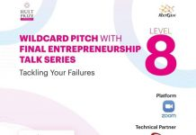 Wildcard Pitch With Final Enterpreneurship Talk Series