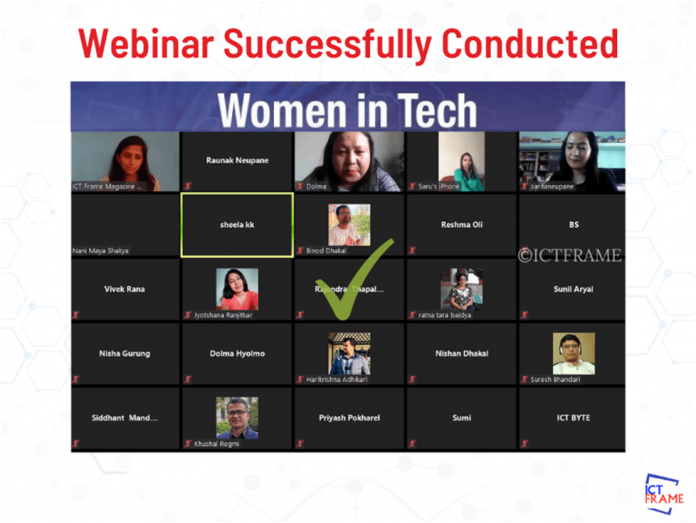 Women in Technology Webinar Conducted Successfully