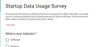 World Bank Announce Startup Data Usage Survey