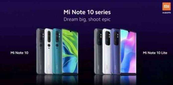 Xiaomi Confirmed to launch Mi Note 10 Lite Tomorrow April 30