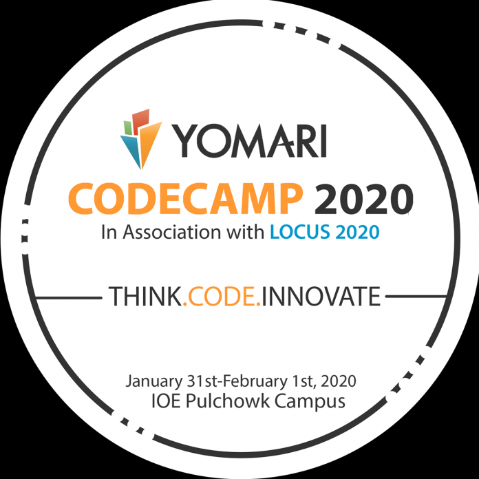 Yomari CodeCamp 2020 In Association With Locus 2020