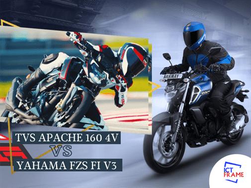 TVS apache 160 vs Yamaha fz fi v3