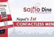 contactless menu system nepal