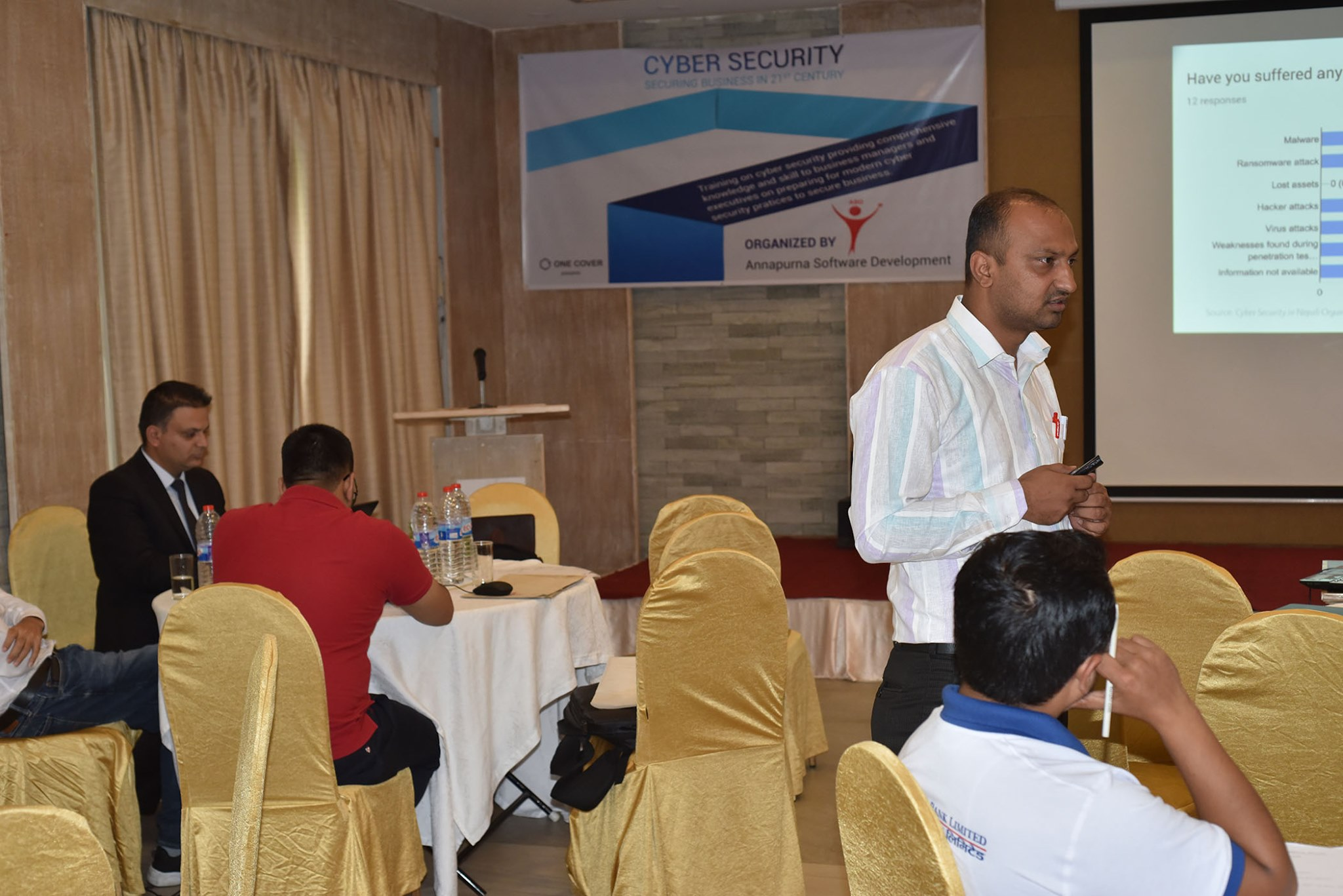 cyber security trainer from nepal