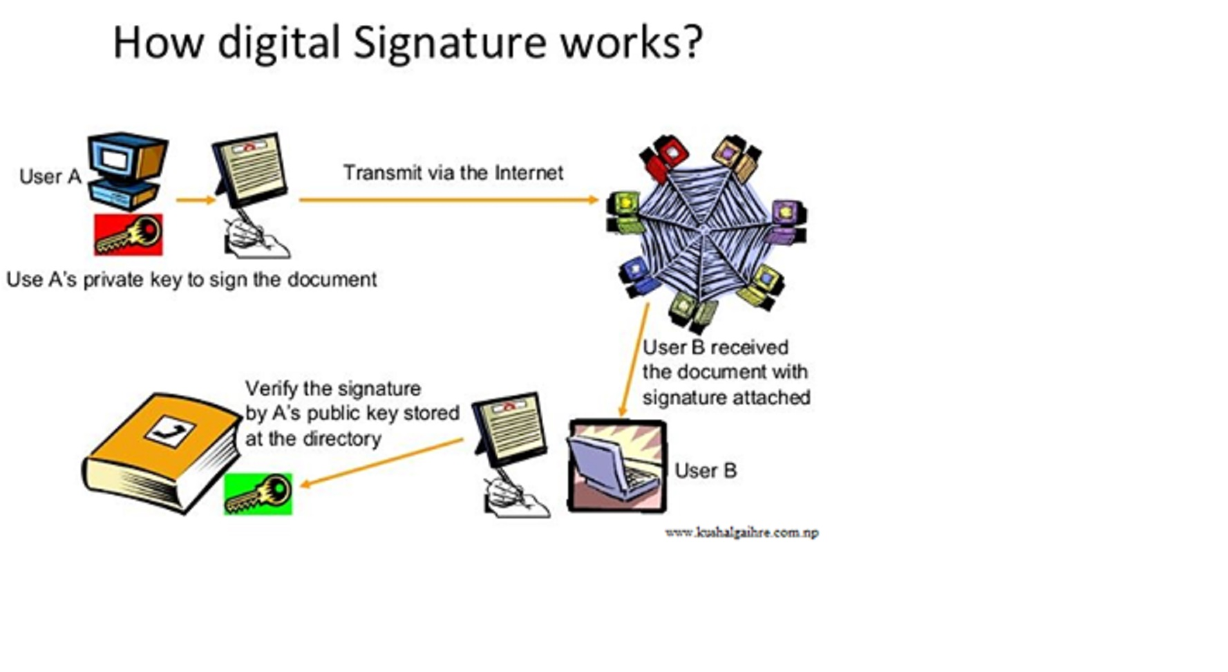 how to install digital certificate trust chain nepal