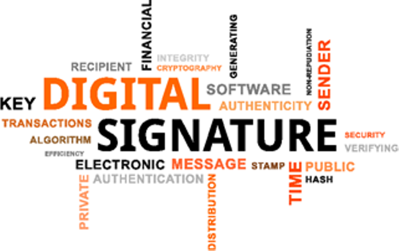 What is Digital Signature and how does it work ? - ICT Frame Technology