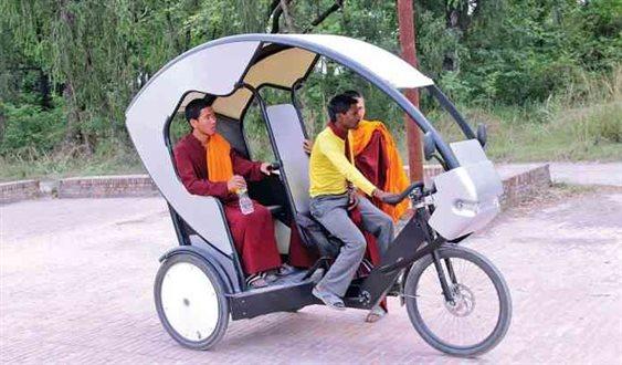 e-rickshaws of Rupandehi