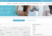 eCommerce Site for eyewear