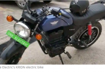 electric motorcycle KRIDN